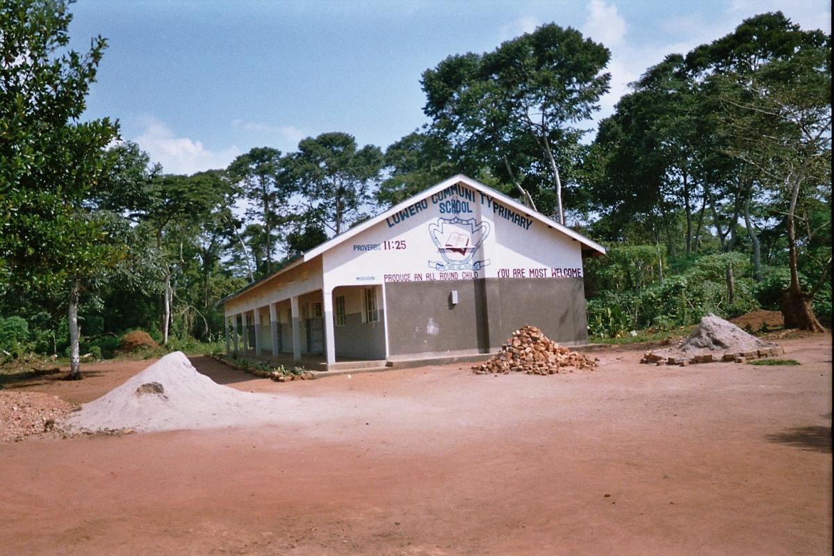 One of the Primary school blocks