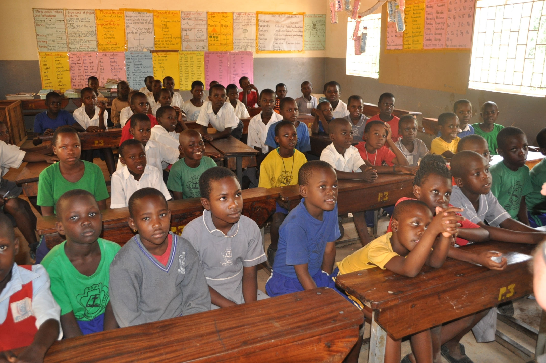 Senior primary school pupils