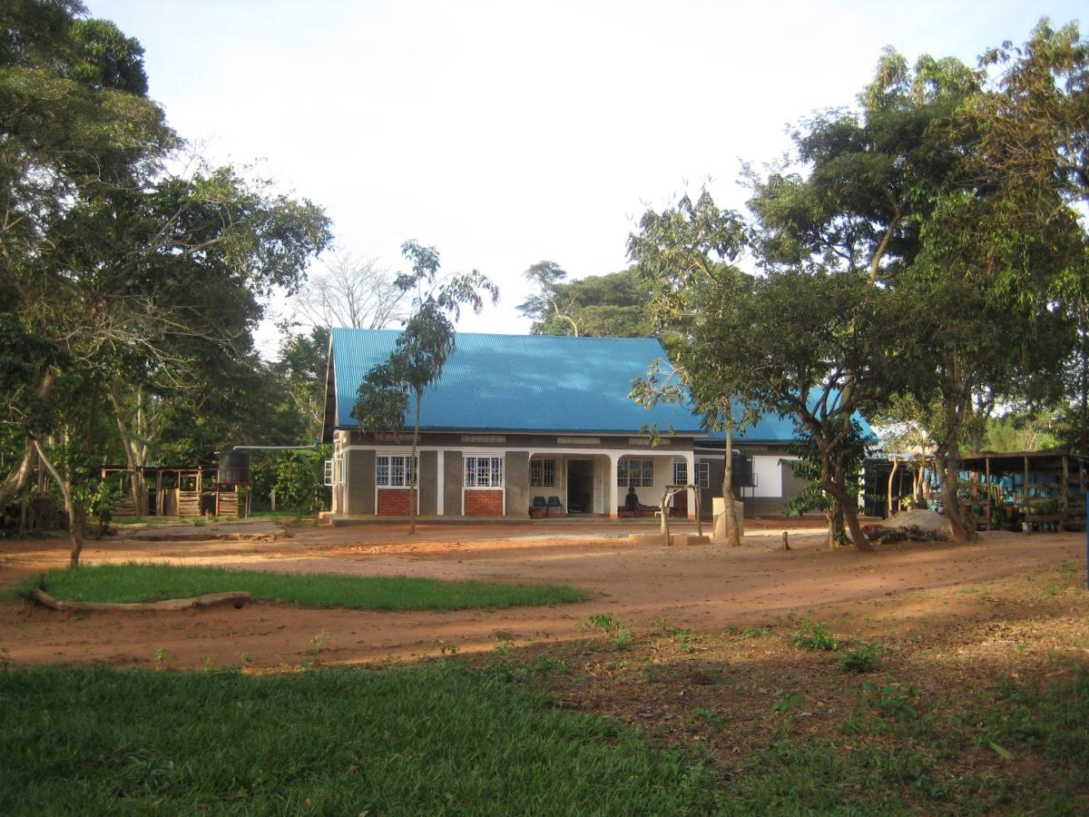 Luwero clinic funded by Lakeland Limited
