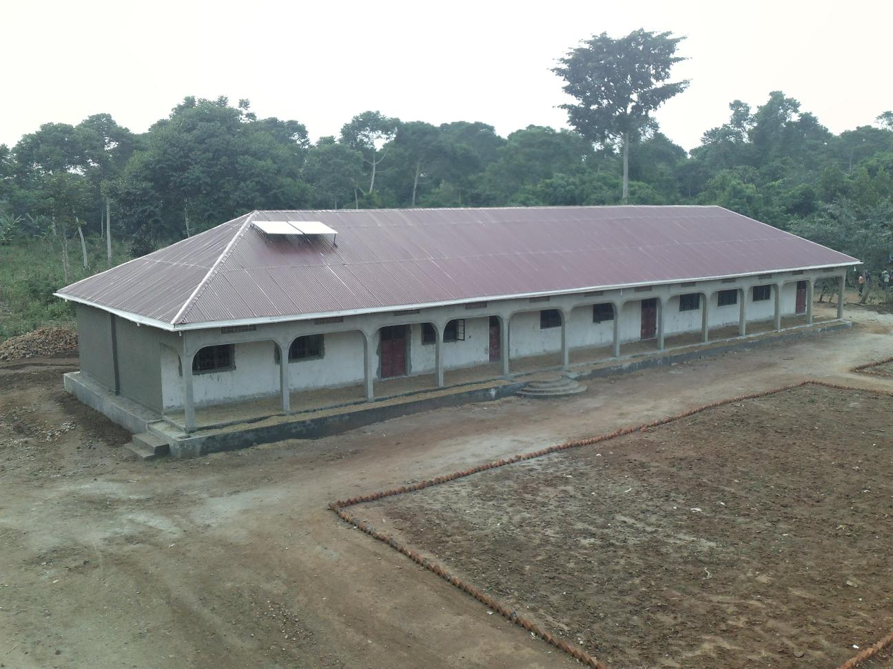 Secondary school assembly hall