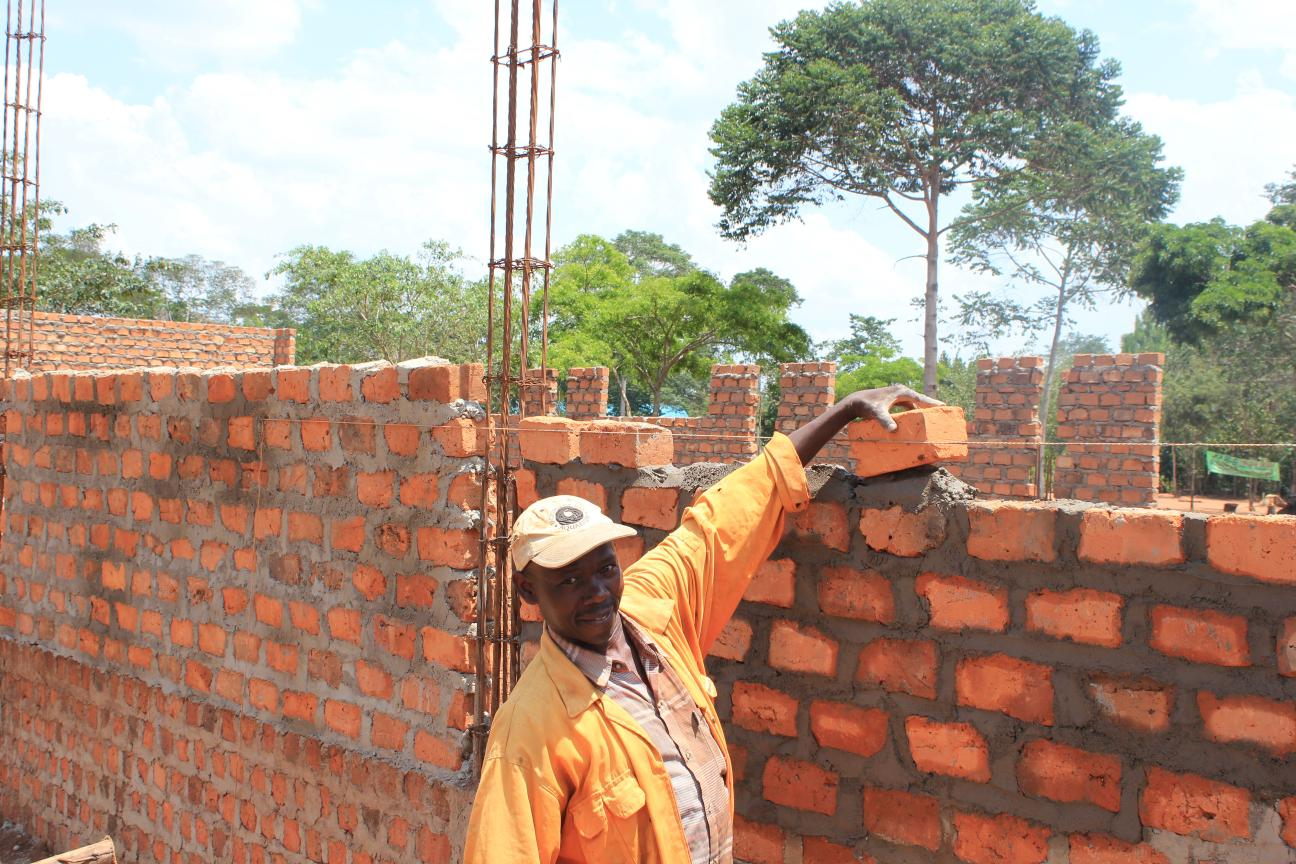 Building the new dormitories