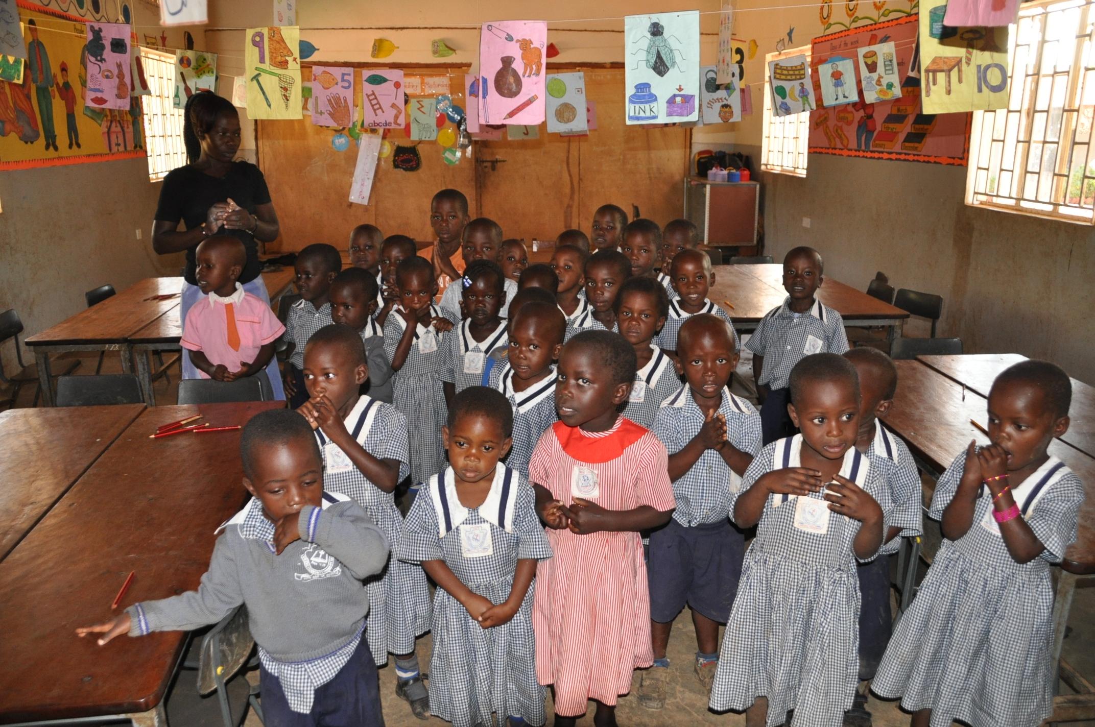 Junior primary school pupils