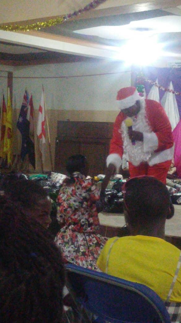 Christmas Day at Luwero