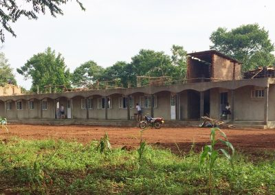 Boys dormitory before