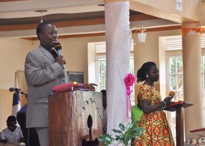 Church - Gabriel and Bush leading worship