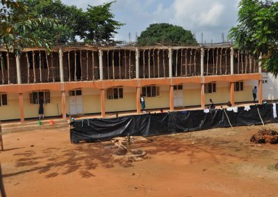 Girls Senior Dormitory - Occupied and ready for second storey