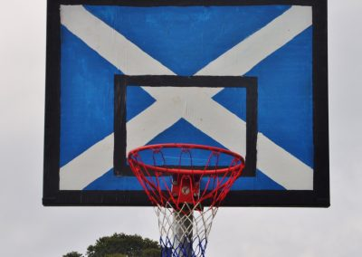 Scottish backboard