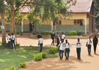 Pupils going to class