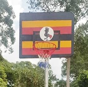 Uganda flag board